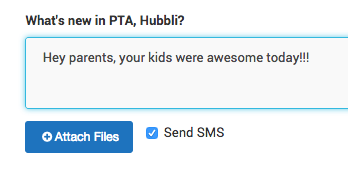 hubbli group posts are a powerful school communication tool
