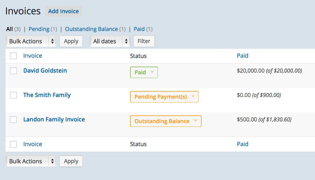 School Invoice Management System - Invoice management system